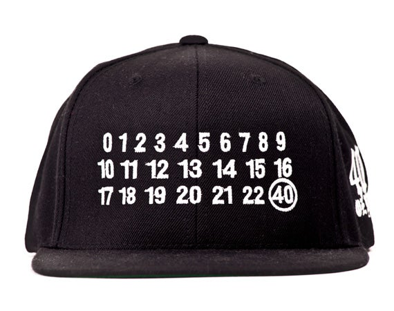 Image of 40 oz NYC - Number Snapback (White)