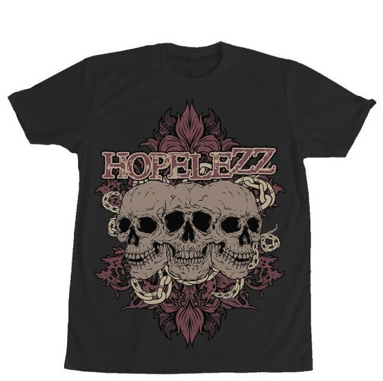Image of T-Shirt - Skulls (black)