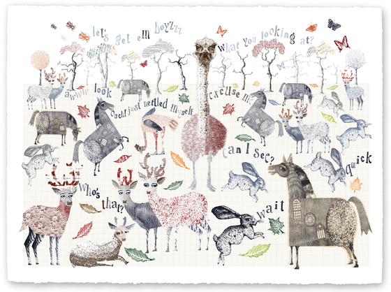 "Image of ""A Walk in the Park"" Part 2 - Giclee Print"