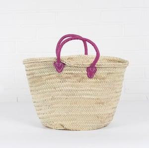 Image of Moroccan Souk Basket (Violet)