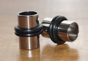 Image of 7mm, 9mm & 11mm Steel Ear Tunnels