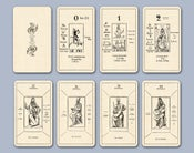 Image of Papus Tarot Divinatoire c.1909 -- in 2 Versions