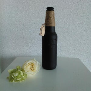 Small Chalkboarded Bottle