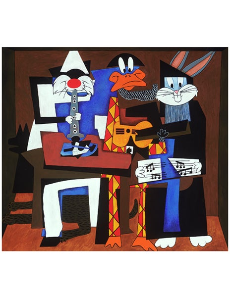 "Image of ""THREE LOONEY MUSICIANS"" LOONEY TUNES MASTERPIECE SERIES - 1998"