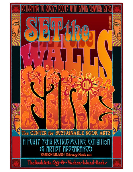 """Image of """"SET THE WALLS ON FIRE: A 40 Year Retrospective"""" - 2010"""