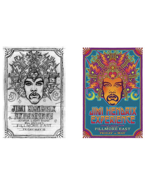 Image of THE 2UP SERIES - Jimmy Hendrix 1st CONCEPT