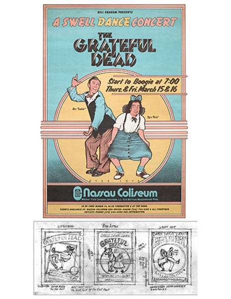 Image of THE 2UP SERIES - Grateful Dead