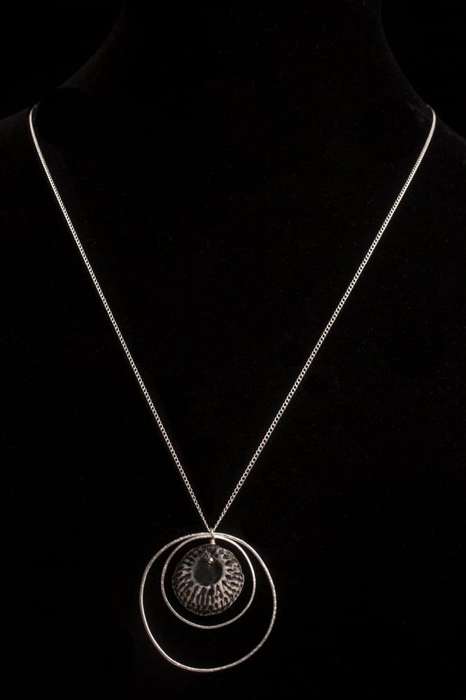 Image of jett black necklace