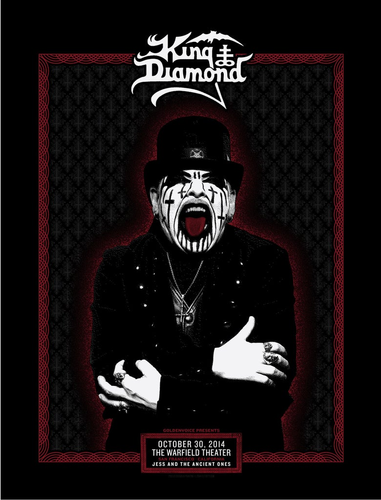 Image of King Diamond - San Francisco 2014