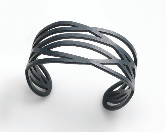 Image of Dark Grey Ivy Cuff