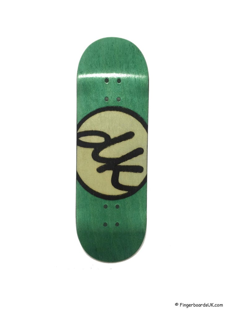 Image of DK Decks Split Ply Logo Series 32mm Teal