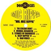 "Image of MIC RIPPA ""MR. MIC RIPPA"" ***SOLD OUT***"