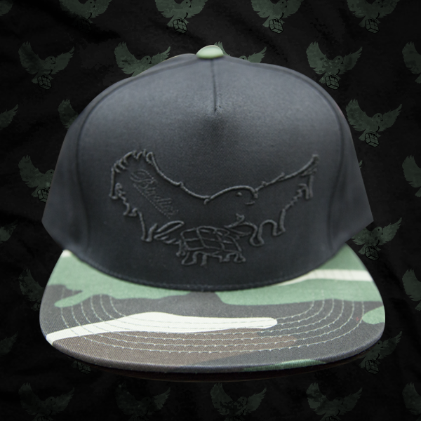 Image of Black/Camp Dripping Snapback