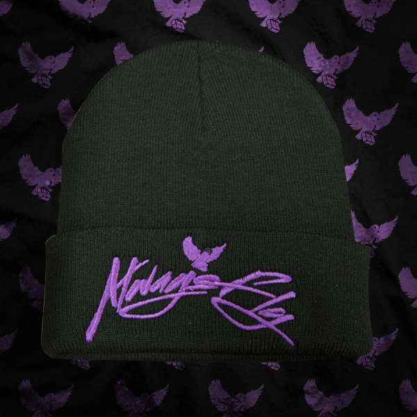 Image of Black/Purple Always Fly Touque