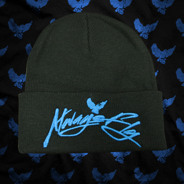 Image of Black/Blue Always Fly Touque