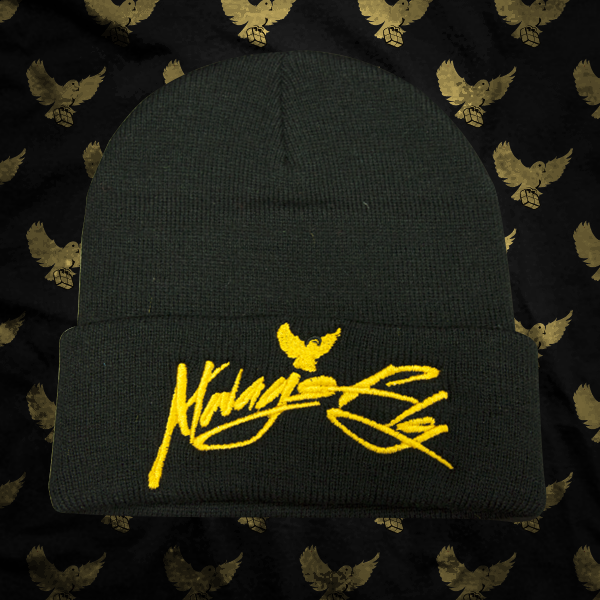Image of Black/Gold Always Fly Touque