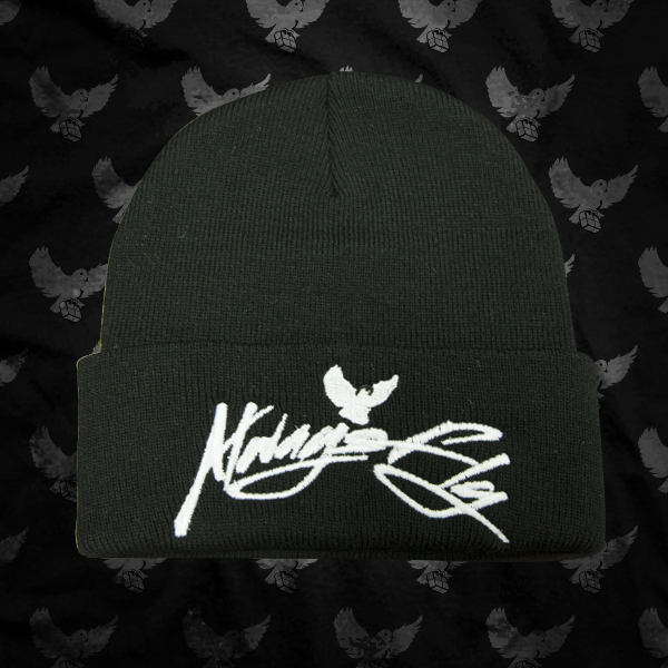 Image of Black/White Always Fly Touque