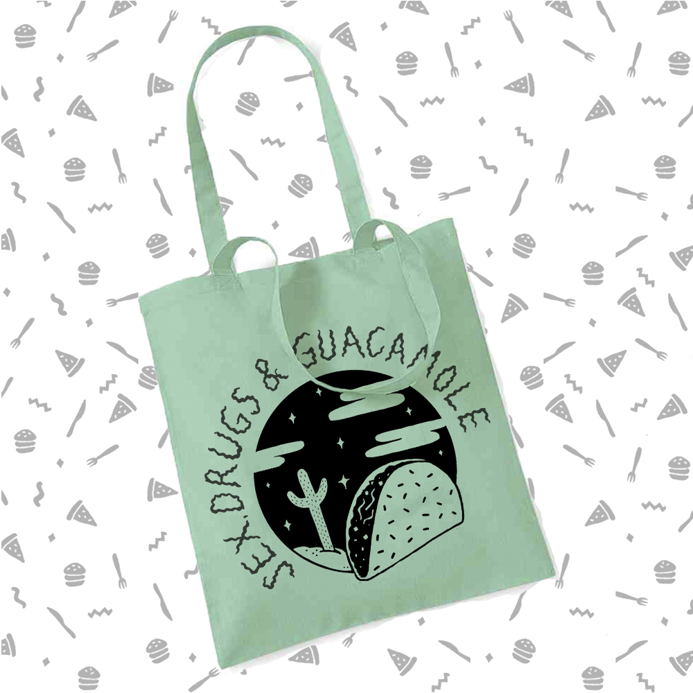 Image of Sex, Drugs & Guacamole Tote Bag