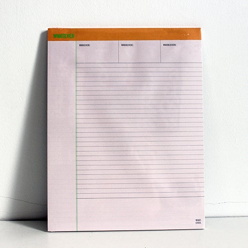 Image of Whatever Notepad