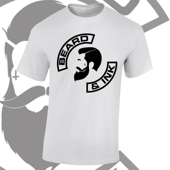 Image of Beard & Ink Side Logo Tee.