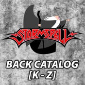Image of STORMSPELL RELEASES Back Catalog [K to Z]