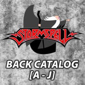 Image of STORMSPELL RELEASES Back Catalog [A to J]