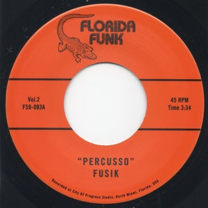"Image of Percusso / Groove In C - 7"" Vinyl"