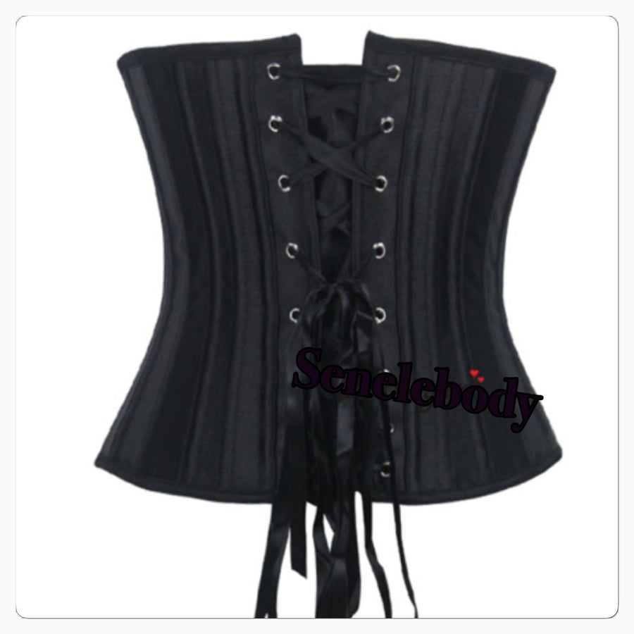 """Image of THE """"Elaine"""" Underbust Corset (STEAL BONED)"""