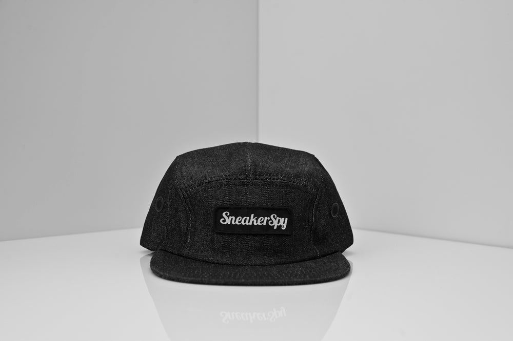 Image of SNEAKER SPY DENIM SCRIPT 5 PANEL