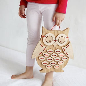 Image of Ollie Bird!™Solid Wood Sewing Puzzle
