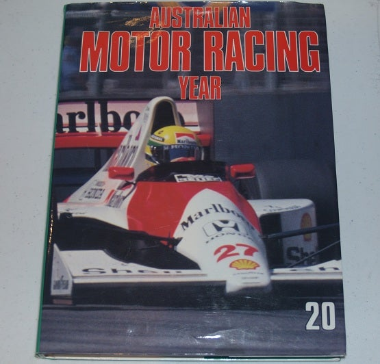 Image of Australian Motor Racing Year Book 20. Rare to find.