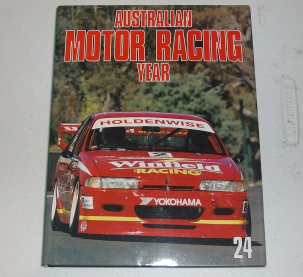 Image of Australian Motor Racing Year Book. # 24