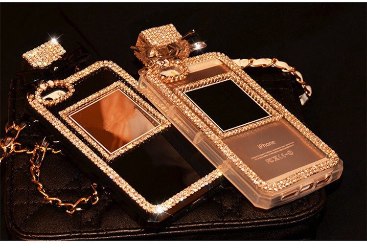 Image of Diamond Perfume  IPhone Case