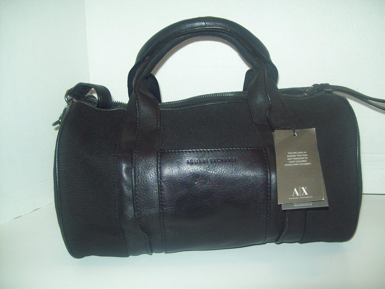 0dec46eb6f71 Armani exchange mixed media satchel bag hi end thrift store JPG 1000x750 Armani  exchange satchel