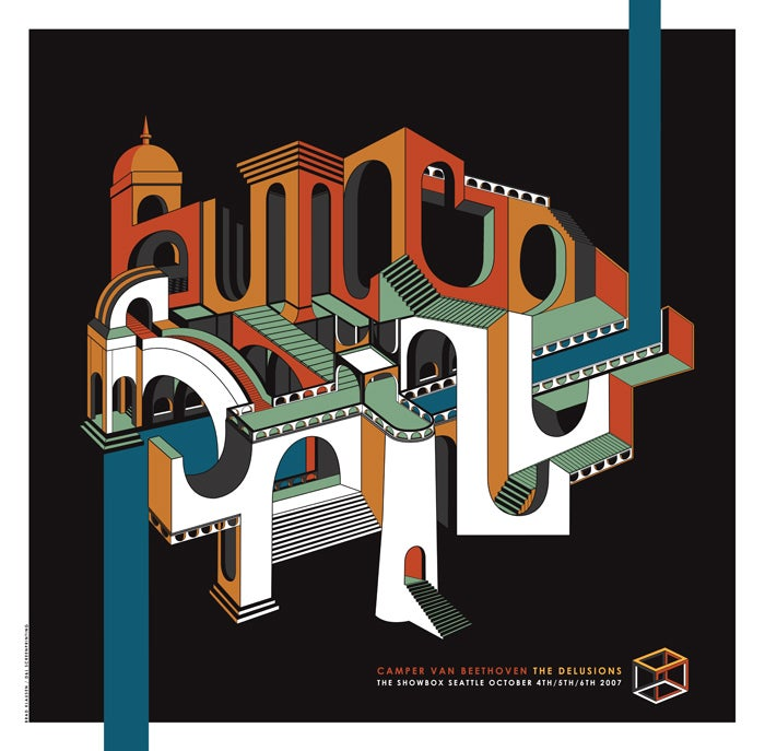 Image of Built To Spill • '07 Screen Print
