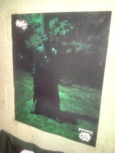 "Image of Large Dice ""Raw Dogg"" Poster 22""x26""( 1992 Rare!!!)"