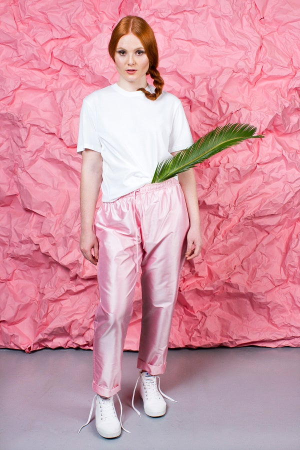 Image of Silk Parachute pants