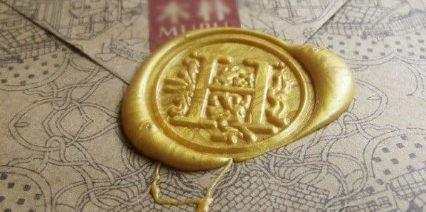Image of Vintage Wax Stamp Seal Set! & Wax Refills  Jane Austen