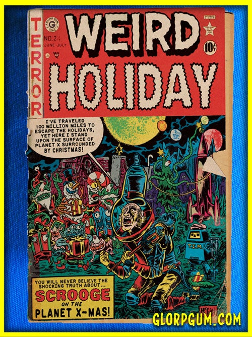 Image of GLORP Comic Holiday Card Variety Pack