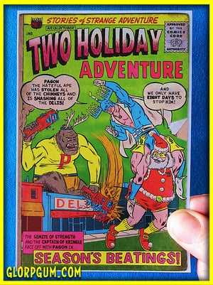 Two Holiday Adventure Holiday Cards