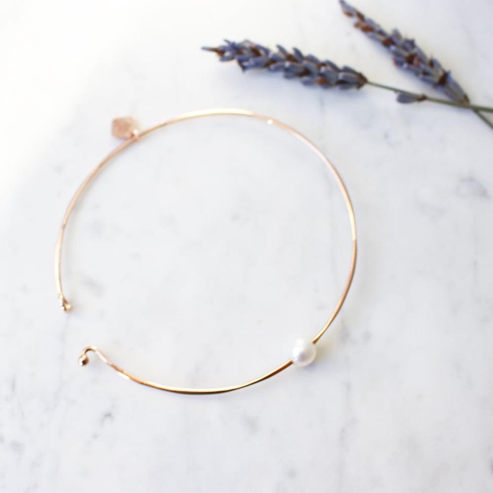 Image of Pure Pearl Bangle Bracelet