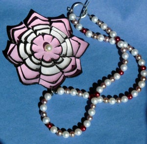 Image of Lotus Flower Necklace