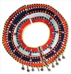Image of Round collar Maasai necklace