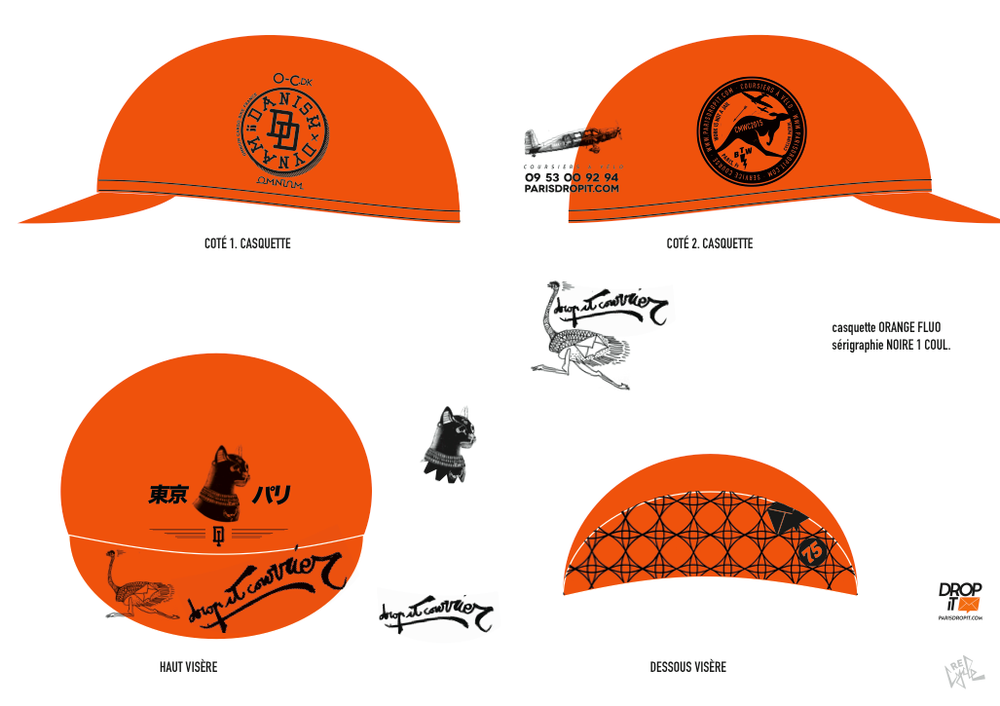 Image of D.I.T.C. cycling cap 2015