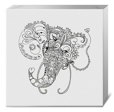 Image of Elephant canvas
