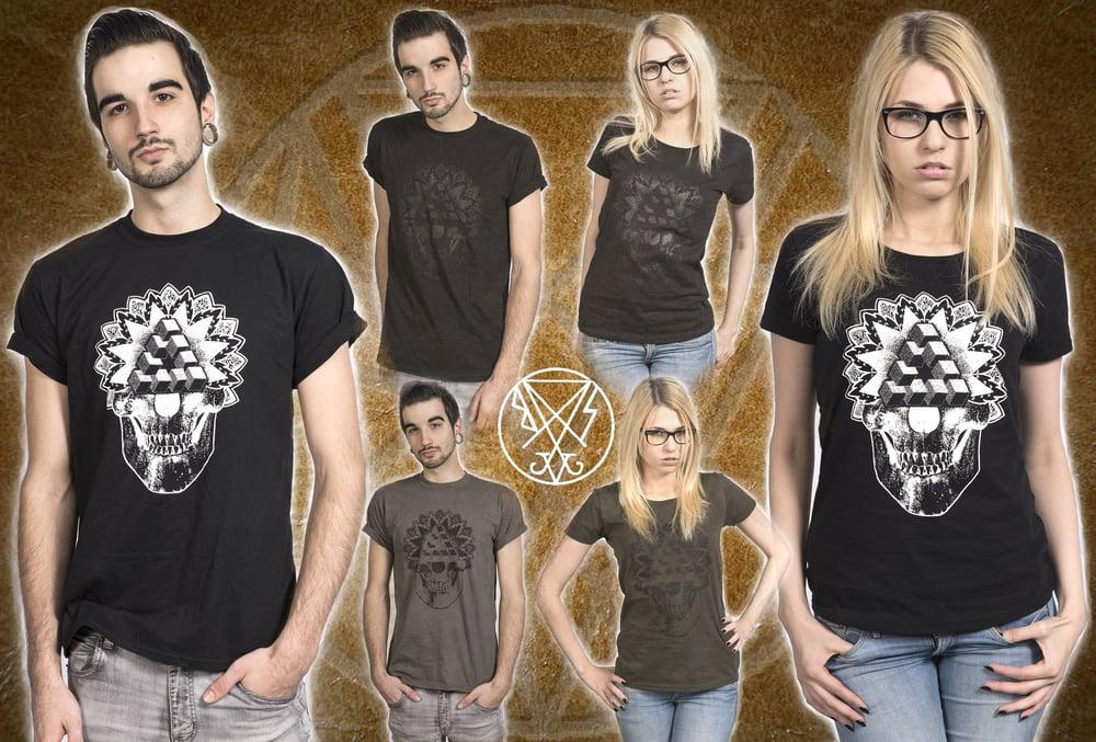 Image of BSV Mandala Skull Tshirt