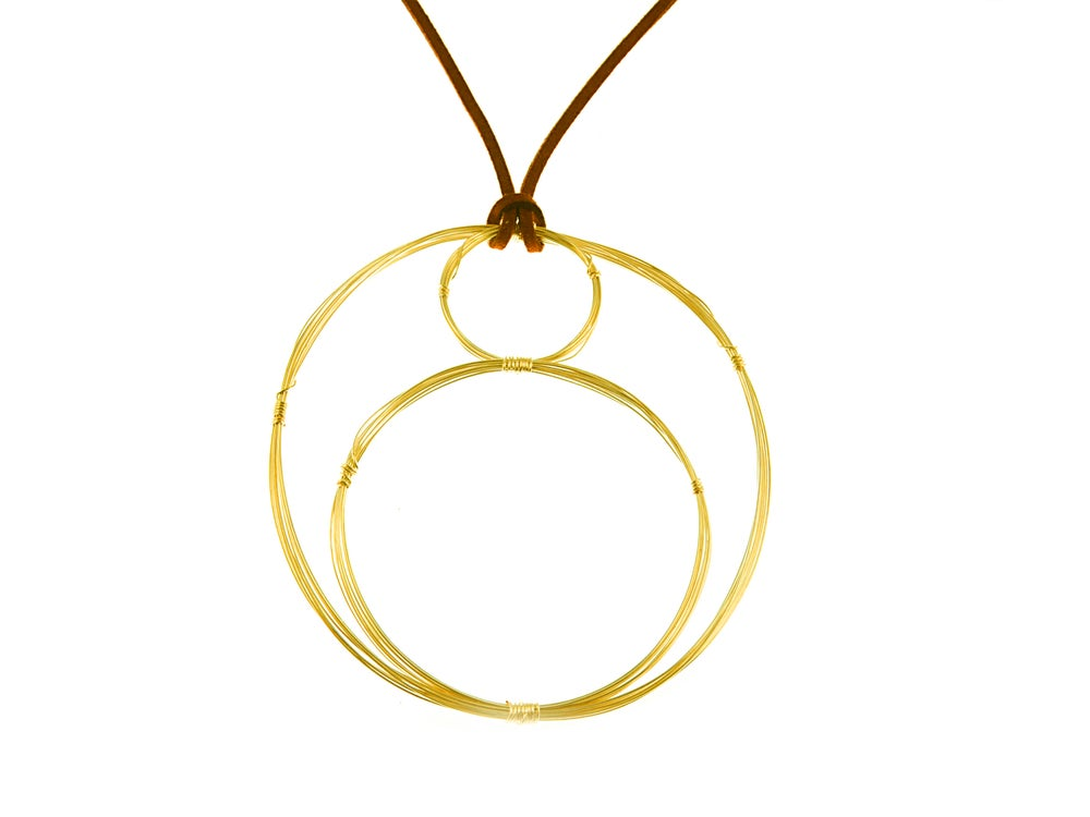 Image of Goddess Mama Infinity Necklace