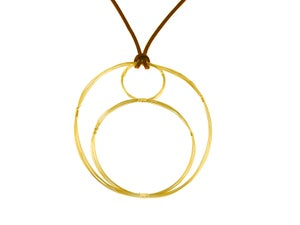 Image of Goddess Mama Infinity Necklace