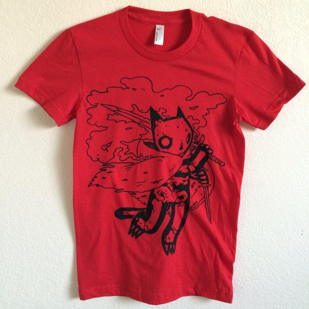 Image of Red Skeleton Shirt