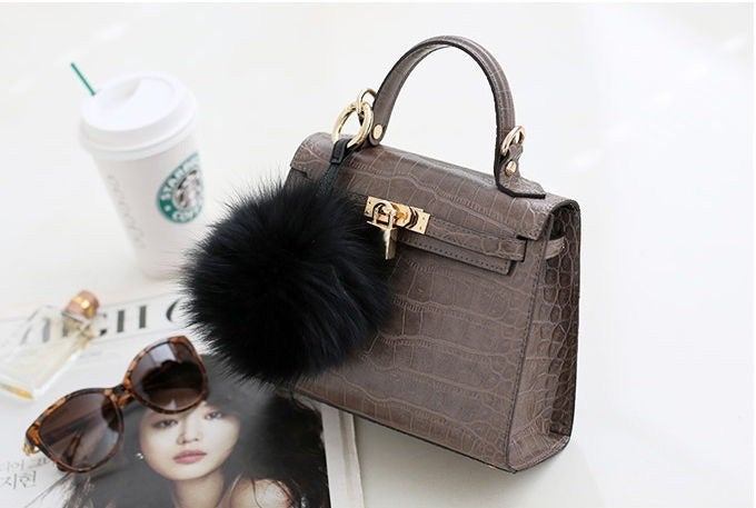 Image of Fur Bag/Key/Luggage Charm